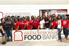 Baton Rouge Food Bank Service Project